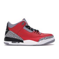 AIR JORDAN 3 Retro Fire Red Cement 乔丹篮球鞋 竞拍中