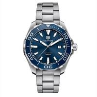 泰格豪雅 Aquaracer 竞潜系列 WAY101C.BA0746 男士时装腕表