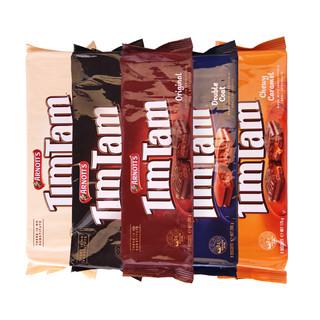 ARNOTT'S 澳大利亚timtam系列 巧克力夹心威化饼干 (太妃焦糖、175g) *5件