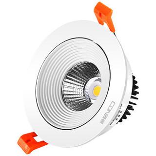 西顿照明(CDN)CET2324/S 9W 3000K 24° 客厅过道走廊洞灯 开孔9.5公分COB射灯
