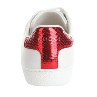 GUCCI 古驰 GUCCI女鞋 白色牛皮休闲女士平底鞋 435638 A38M0 9074 37