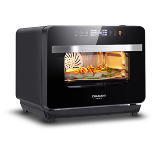 德玛仕(DEMASHI)商用电烤箱  蒸汽烤箱一体机 台式  家用电蒸箱 T30KN18G 30升 家庭大容量