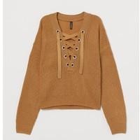 H&M 0640174 女士长袖套衫