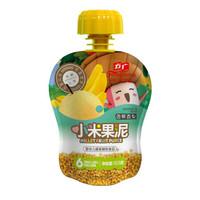 方广   香蕉香梨小米果泥103g *3件