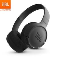 JBL TUNE 500BT 头戴式蓝牙无线耳机 运动耳机 游戏耳机 暗夜黑