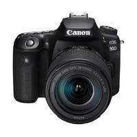 Canon 佳能 EOS 90D APS-C画幅 单反相机套机(EF-S 18-135mm F3.5-5.6 IS USM镜头)