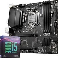 微星(MSI) Z390M S01主板+英特尔(Intel)i5-9600KF 酷睿六核 板U套装/主板CPU套装
