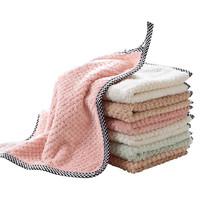 嘉莱 可挂式珊瑚绒擦手巾 5条装 *2件