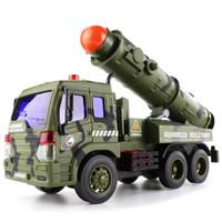 文艺(WENYI)男孩玩具儿童玩具惯性车1:16惯性导弹车W650B *3件
