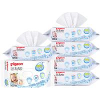 贝亲(Pigeon) 婴儿湿纸巾 100片*6包