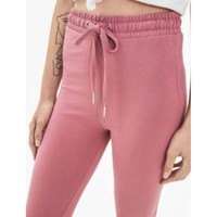 Bershka 05222478671 女士粉色抽绳运动长裤