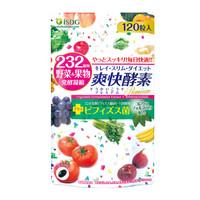 ISDG 爽快酵素 232果蔬植物发酵素梅胶囊 非酵素原液 双歧杆菌孝酵素120片 日本进口 *4件
