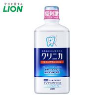 LION狮王齿力佳酵素漱口水无酒精杀菌除口臭除异味日本进口 450ml