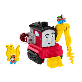 托马斯和朋友(THOMAS&FRIENDS)男孩玩具送礼佳品 轨道大师系列之巨型多功能巡洋舰合金套装 GDV38