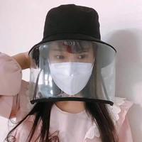 韩国防飞沫防病毒渔夫帽防护帽