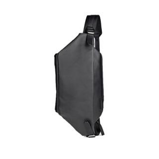 cote&ciel电脑包Isarau苹果联想华硕iPad平板单肩包大容量背包9.7英寸涂层帆布黑28395