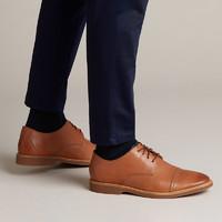 clarks 其乐 男鞋Atticus Cap款 简约商务休闲皮鞋