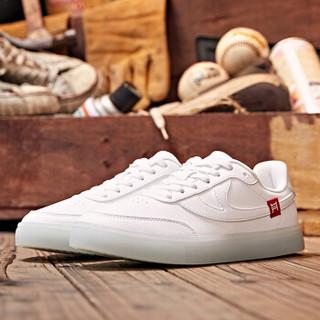 乔丹 女鞋板鞋潮流彩虹底休闲透气运动鞋 XM3690563 白色/气泡绿 37