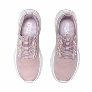 李宁 LI-NING eazGO女子舒适跑鞋AREP016-2 冰紫色-2  39