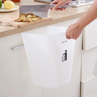 京东京造 简约磨砂垃圾桶 6.4L 环保分类方形废纸篓办公客厅