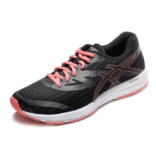 ascis亚瑟士 女跑步鞋 T875N 002-黑色/粉色 37