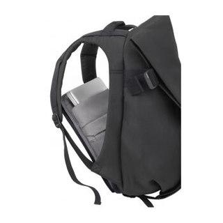 cote&ciel电脑包Isar苹果联想戴尔华硕iPad平板大容量双肩背包17英寸纤维黑色27700