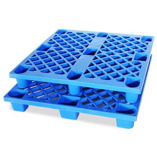 欧宝美塑料托盘叉车货物货架仓储防潮垫板超市货物地垫加厚1.2*0.8米