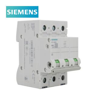 西门子 5TL1 负荷隔离开关 底板/DIN导轨安装 正面操作 柜内操作手柄 阻性负载 3P 125A 5TL13920