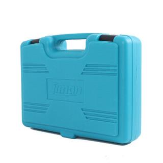 季漫(JIMAN)12V锂电 10mm手电钻套装 含钻头附件 蓝色 15件套 JM—TA0315