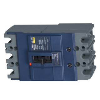 施耐德 塑壳配电保护断路器 EZD100M TM-D 100A 3P 手动 固定式 EZD100M3100N