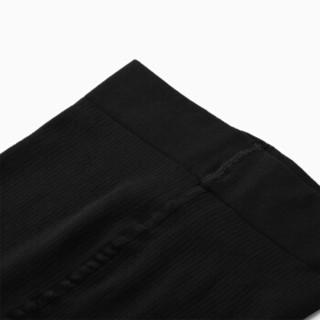 INTERIGHT连裤袜 竖条200D三角棉裆连裤袜 黑色 均码