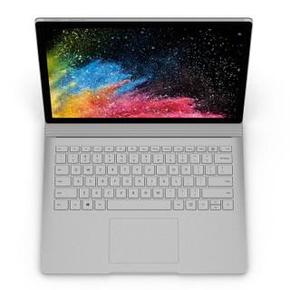 Microsoft 微软 Surface Book 2 13.5英寸 笔记本电脑(银色、酷睿i7-8650U、8GB、256GB SSD、GTX 1050)