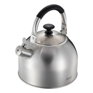 Momscook 不锈钢水壶304烧水壶响水壶鸣音鸣笛大容量燃气电磁炉通用 4L烧水壶LY40K