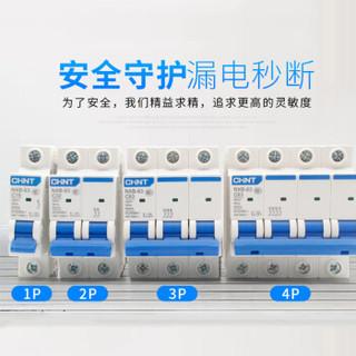 正泰 CHNT小型断路器(DZ47) NXB-63 C型 1P、2P、3P、4P 1~6A 10~32A 40A 50~63A (量多定制)