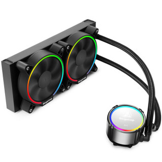 Segotep 鑫谷 冰酷240 RGB智领版 一体式水冷散热器 240冷排 RGB