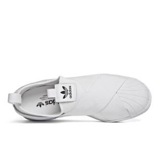 ADIDAS 阿迪达斯 三叶草 ENHANCED FASHION 女 四季款 经典鞋白色 S81338 38.5