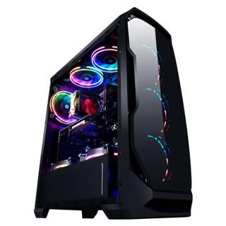 御龙者 AMD 锐龙R5 3600/GTX1070Ti升RTX2060水冷游戏台式DIY组装电脑主机