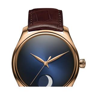 H. Moser & Cie 亨利慕時 1801-0400 男士手动机械手表