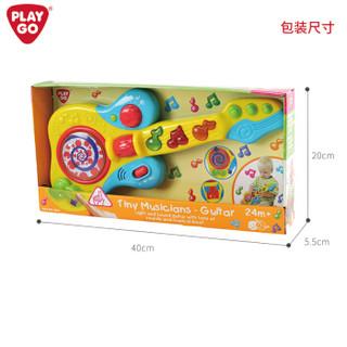 PLAYGO贝乐高吉他儿童玩具乐器 音乐早教启蒙益智玩具宝宝婴儿玩具女孩礼物 2666