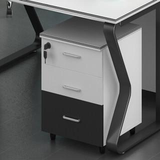 中伟办公屏风桌职员桌简约现代电脑桌工作卡位钢架4人位含椅子2400*1200*750