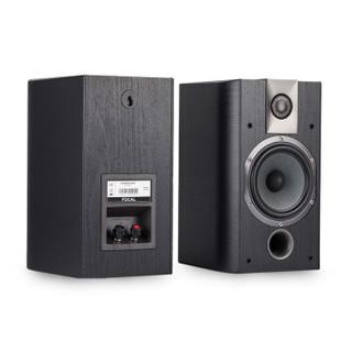FOCAL劲浪 CHORUS 605 书架音箱无源音响家庭影院 HIFI 2.0 环绕高保真木质法国 (黑色)