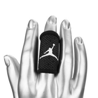 NIKE耐克飞人AJ篮球护指 运动护具 指关节护指套 手指扭伤护具JKS03010 MD 黑色两只装