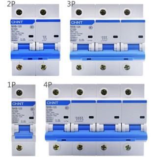 正泰(DZ158)NXB-125空气开关1P2P3P4P大功率大电流断路器电压63A 80A 100A 125A (量多定制)