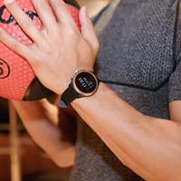 化石(Fossil)手表 2019新款欧美时尚运动智能触屏男女表 多功能男女士时装腕表 休闲黑硅胶表带FTW4019