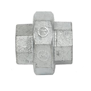 建支 国标热镀锌油任/活接头/丝扣活接 玛钢 6分DN20 20个