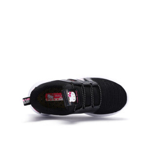 HELLOKITTY 童鞋女童运动鞋 网面透气休闲鞋 K953A3898黑色26