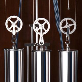 美时嘉(Messica)德国赫姆勒机芯时尚十二音簧7天机械落地钟5079
