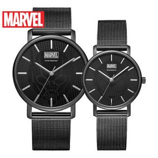 MARVEL 漫威 M-9086BBB-G 男士石英手表