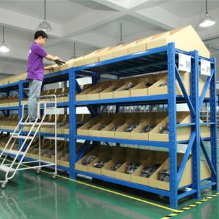 易存货架仓储家用层架500kg/层收纳架子置物架储物架 蓝色200*60*200四层主架