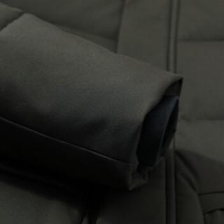 鸭鸭(YAYA)棉服男2019秋冬新款短款加厚保暖棉衣尚立领棉袄连帽外套 GSMF2718 咸菜 3XL